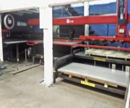 SISTEMA DE CARGA/DESCARGA AUTOMÁTICO para PUNZONADORA o LÁSER AMADA modelo MP-250